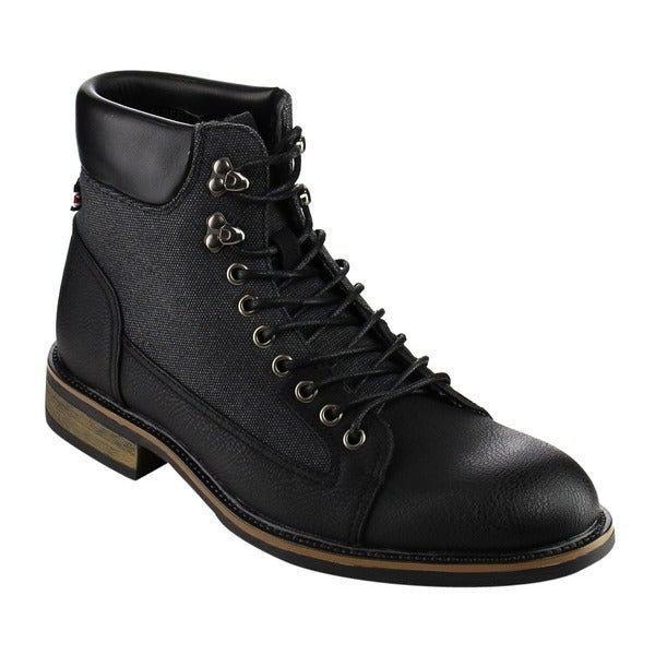 Arider Men's Lace-up Military Boots