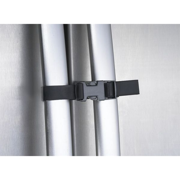 Parent Units Black Plastic Double-door Fridge Guard Strap