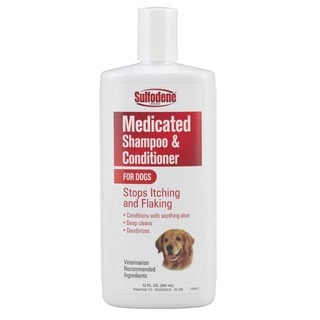 Sulfodene Medicated 12-ounce Dog Shampoo and Conditioner