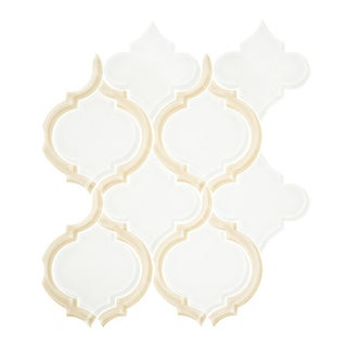 Vicci Design Arabesque Silhouette Glass Mosaic