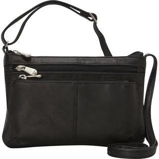Le Donne Waverly Leather Crossbody Handbag