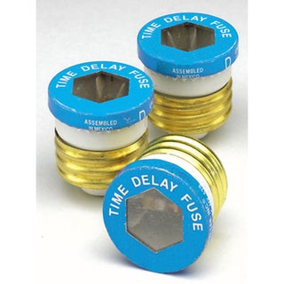 Leviton C21-07942-020 20 Amp Time Delay Glass Plug Fuses 19045391