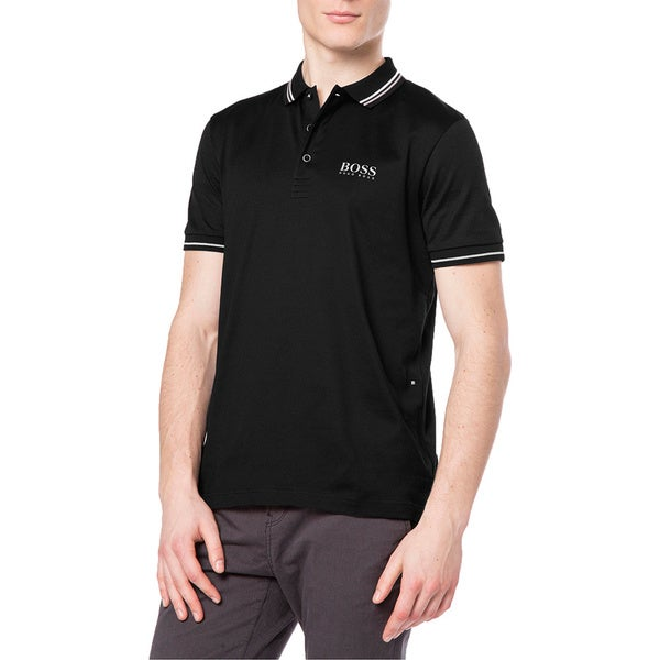 Hugo Boss Men's Paddy Pro 2 Black Polo