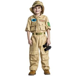 Boys' Polyester Zoo Keeper Halloween Costume