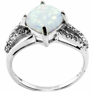 Haven Park Sterling Silver and Opal Ring