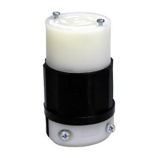 Leviton 165-2413-0 20 Amp 4W, 3P NEMA L14-20 Locking Connector