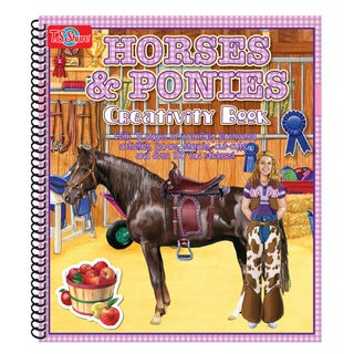 T.S. Shure Horse and Ponies Creativity Book