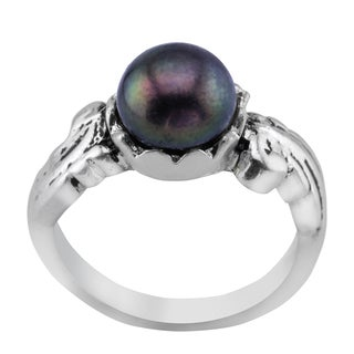 Haven Park Genuine Peacock Freshwater Pearl Ring