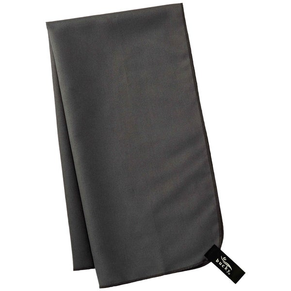 Bucky Charcoal Grey Polyester Quick Dry Hair Towel