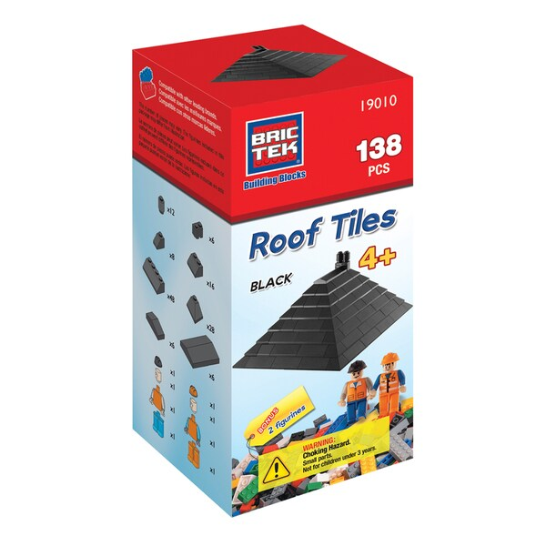 Brictek Black Roof Tiles
