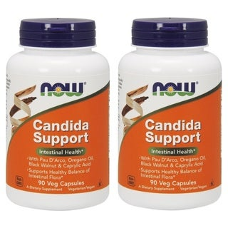 Now Foods Candida Support (90 Veggie Capsules)