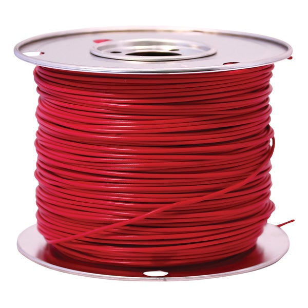 Southwire 55672123 100' X 10 Gauge Red GPT Primary Wire Cable Principal
