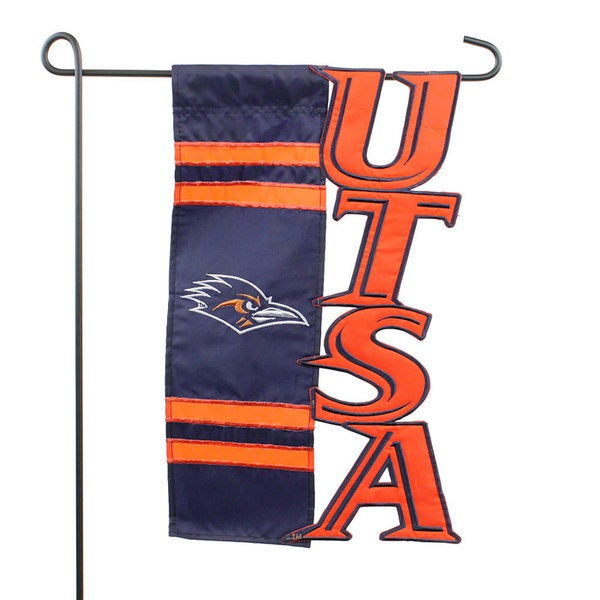 University of Texas at San Antonio Roadrunners Applique Sculpted Flag 19046139