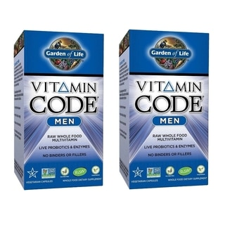 Garden of Life Vitamin Code Multivitamin for Men (240 Veggie Caps)