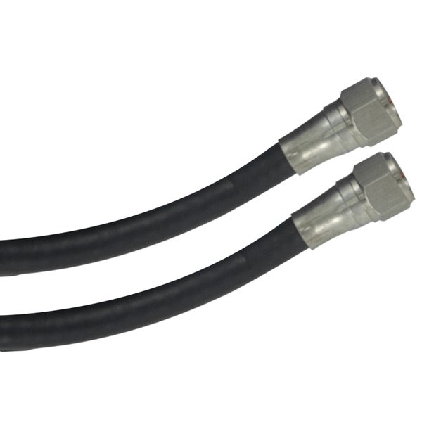 GE Jasco 73273 6' Black RG6 Video Cable