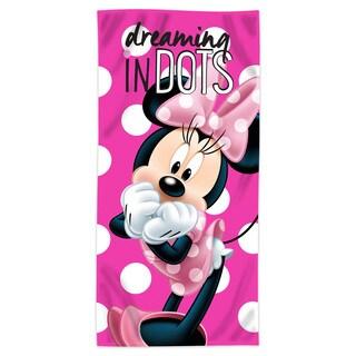 "Minnie """"Dreaming in Dots"""" Beach Towel"