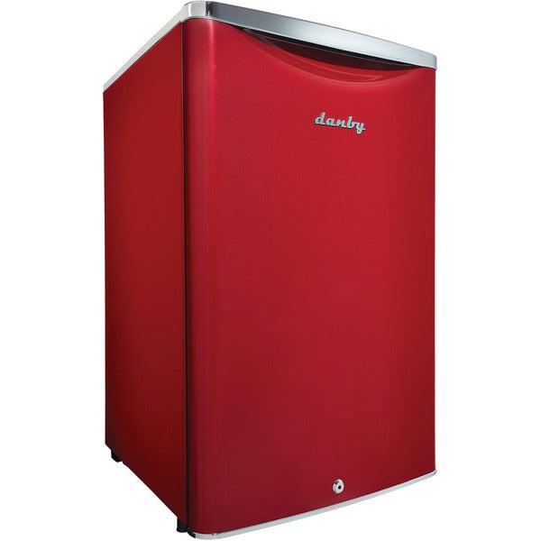 Danby Dar044a6ldb Scarlet Red 4 4 Cubic Foot Contemporary