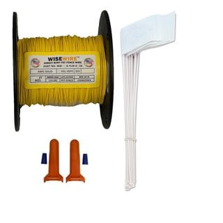 WiseWire In-Ground Copper Pet and Dog Fence Wire Kit