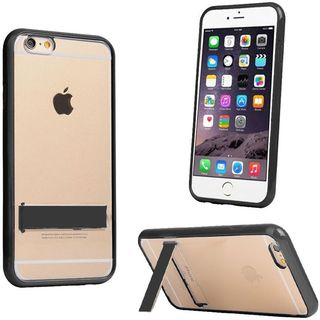 Insten Hard Snap-on Dual Layer Hybrid Crystal Case Cover with Stand For Apple iPhone 6 Plus/ 6s Plus