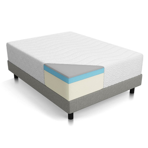 Lucid California King Memory Foam Mattress