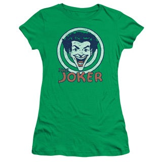 DC/Joke Target Junior Sheer in Kelly Green