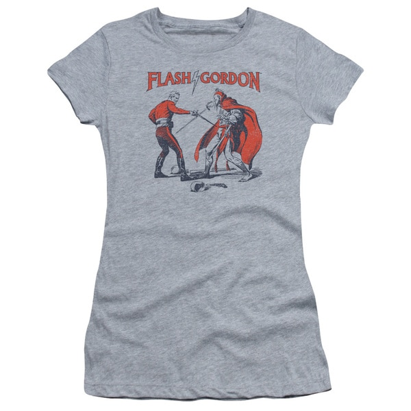 Flash Gordon/Duel Junior Sheer in Heather in Athletic Heather