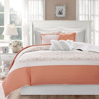 Madison Park Cardiff 6 Piece Quilted Coverlet Set Prices