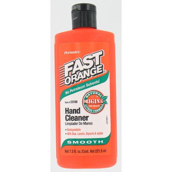 Permatex 23108 7.5 Oz Fast Orange Natural Citrus Hand Cleaner