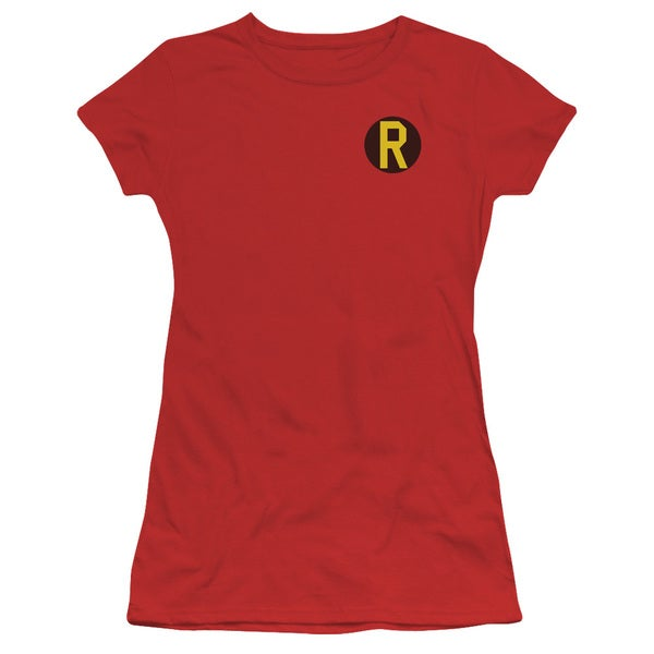 DC/Robin Logo Junior Sheer in Red