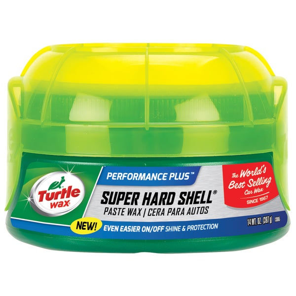 Turtle Wax T222R 14 Oz Super Hard Shell Car Wax