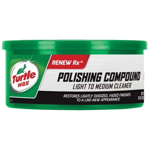 Turtle Wax T241A 10.5 Oz White Polishing Compound