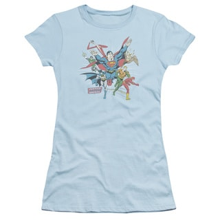 DC/Lead The Charge Junior Sheer in Light Blue