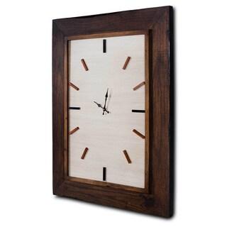 Owen Brown Wood Clock