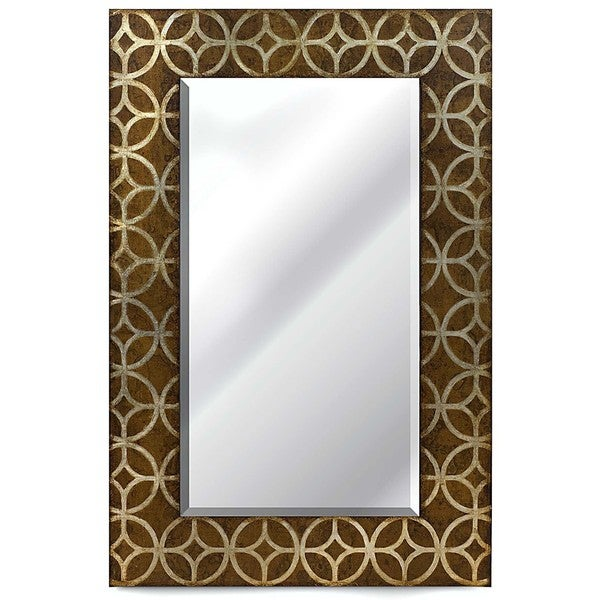 Fusion Wood-framed Mirror