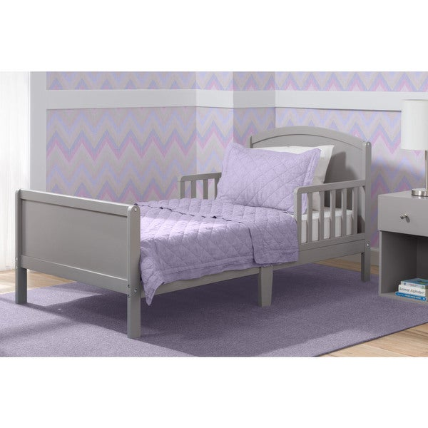 Delta Children Archer Grey Toddler Bed