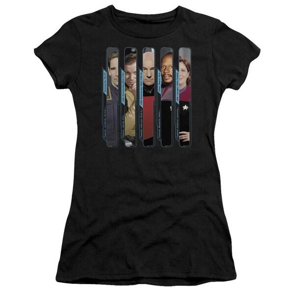 Star Trek/The Captains Junior Sheer in Black