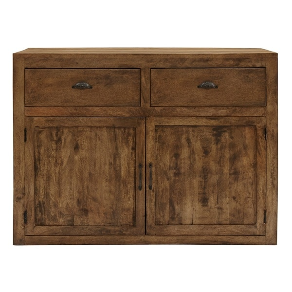 Gavin Light Brown Bar Cabinet