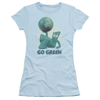 Gumby/Go Green Junior Sheer in Light Blue