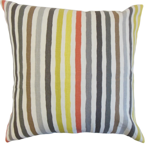 Islay Stripe Throw Pillow Cover