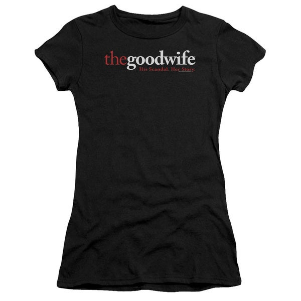 The Good Wife/Logo Junior Sheer in Black