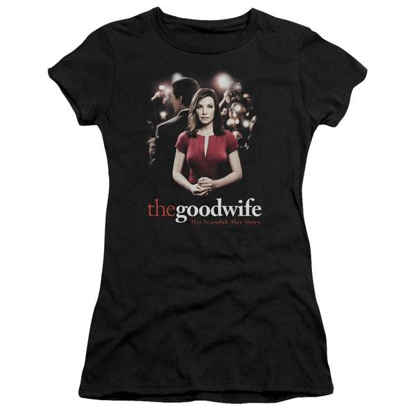 The Good Wife/Bad Press Junior Sheer in Black