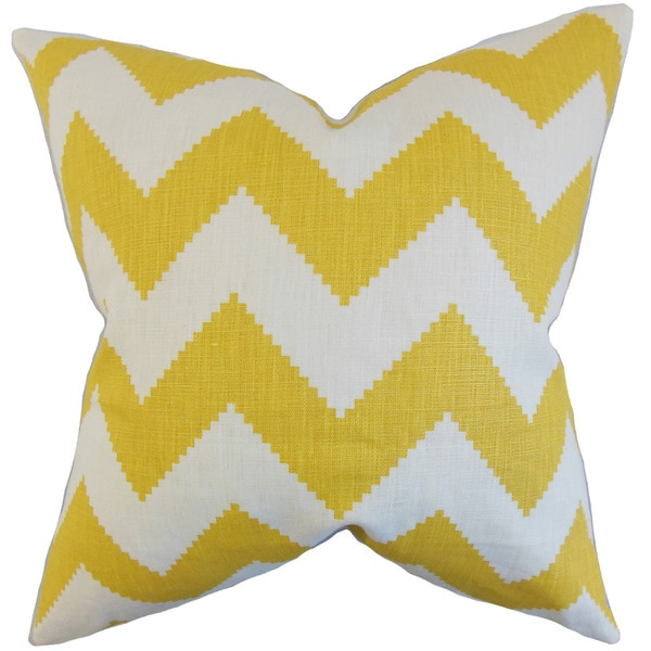 Maillol Zigzag Throw Pillow Cover Squ