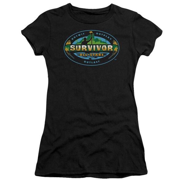 Survivor/All Stars Junior Sheer in Black