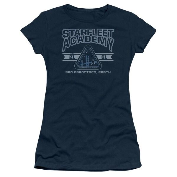 Star Trek/Starfleet Academy Earth Junior Sheer in Navy