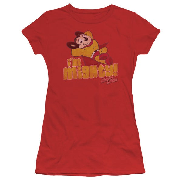 Mighty Mouse/I'M Mighty Junior Sheer in Red
