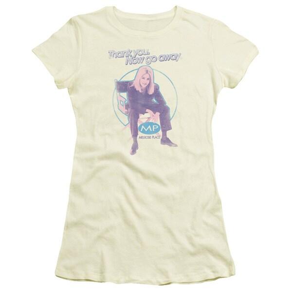 Melrose Place/Love Amanda Junior Sheer in Cream