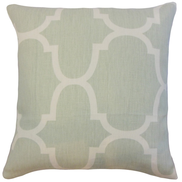 Cascade Geometric Throw Pillow Cover