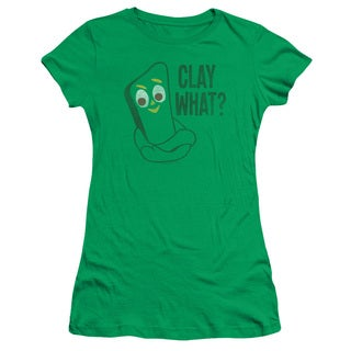 Gumby/Clay What Junior Sheer in Kelly Green