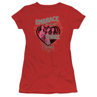 Charmed/Embrace The Power Junior Sheer in Red