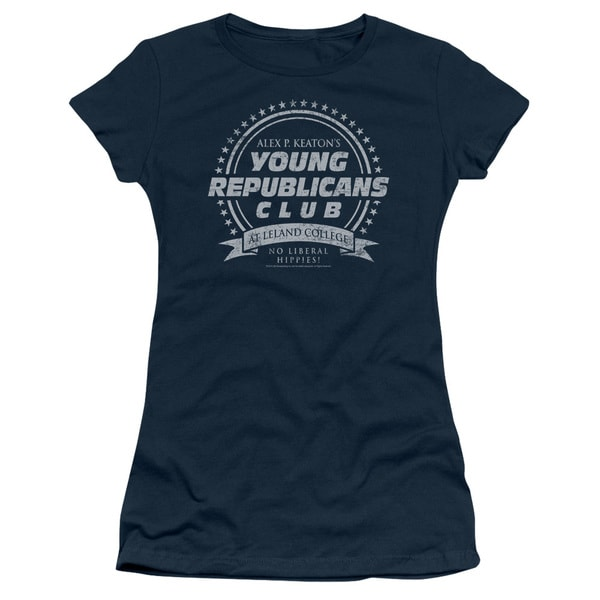 Family Ties/Young Republicans Club Junior Sheer in Navy